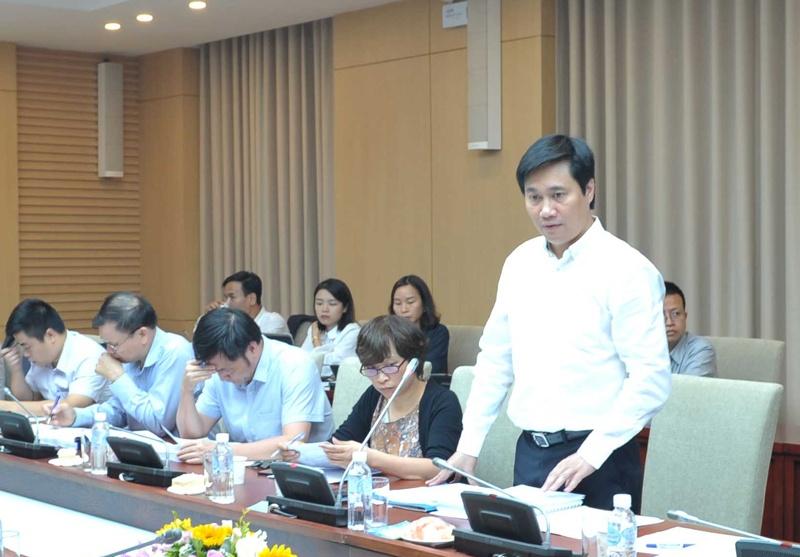 Họp thẩm định Đề án đề nghị công nhận thị trấn Lương Sơn đạt tiêu chí đô thị loại IV