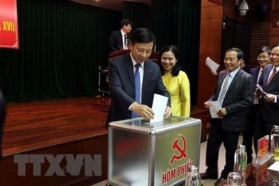 Ông Phạm Xuân Thăng được bầu làm Phó Bí thư Thường trực tỉnh Hải Dương