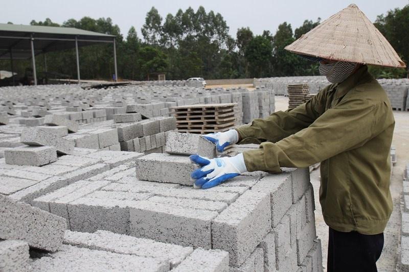 Yên Bái: Khuyến khích sản xuất vật liệu xây dựng thân thiện với môi trường
