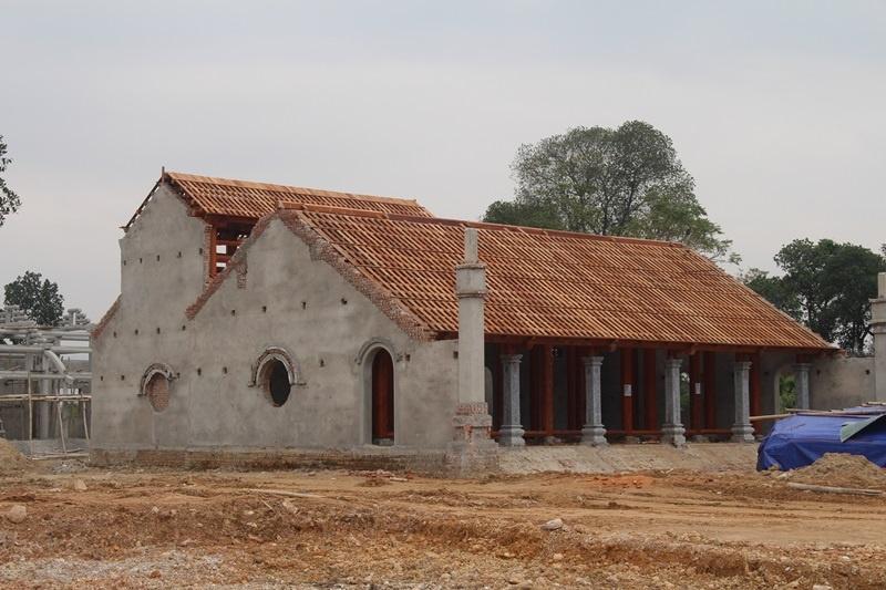 Thanh Chương (Nghệ An): Ngang nhiên xây dựng chùa không phép xâm lấn di tích lịch sử quốc gia