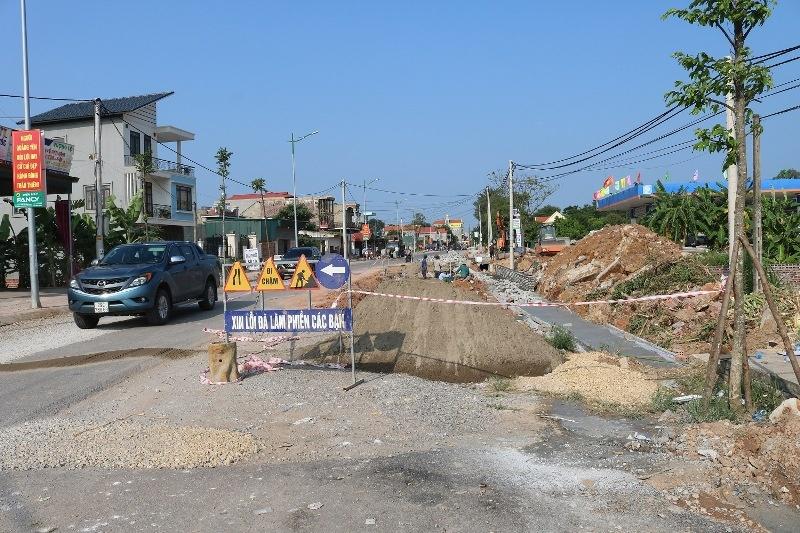 Quảng Yên (Quảng Ninh): Triển khai nhiều công trình giao thông lớn
