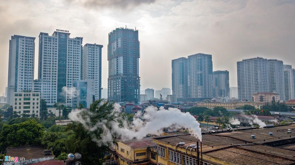 Hàng loạt nhà máy ô nhiễm trong lòng thành phố Hà Nội
