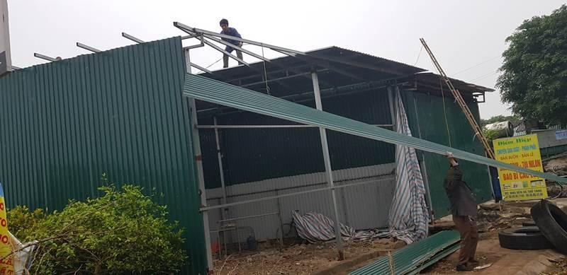 Vĩnh Tường (Vĩnh Phúc): Xử lý công trình vi phạm trên đất nông nghiệp tại thị trấn Thổ Tang