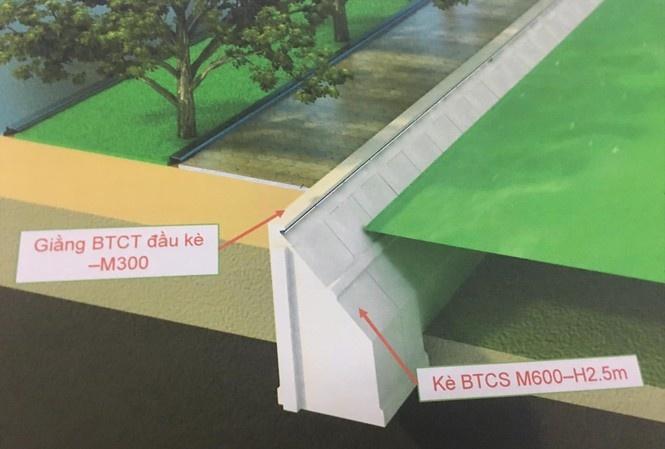 Kè Hồ Gươm bằng bê tông: Băn khăn về kiến trúc cảnh quan