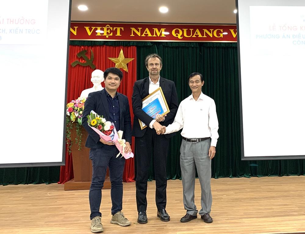 Đà Nẵng: Trao giải cuộc thi tuyển Phương án điều chỉnh quy hoạch kiến trúc công viên 29/3