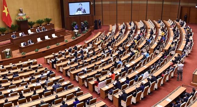 Dự án Luật Xây dựng sửa đổi được Quốc hội thảo luận lần đầu tại hội trường ngày 27/11