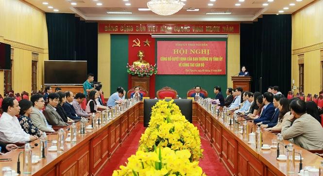 Đồng chí Vũ Duy Hoàng được phân công giữ chức vụ Trưởng ban Tuyên giáo Tỉnh ủy Thái Nguyên