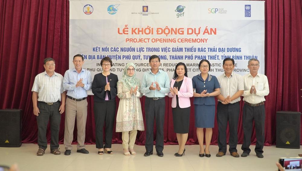 Kết nối các nguồn lực trong việc giảm thiểu rác thải đại dương ở tỉnh Bình Thuận