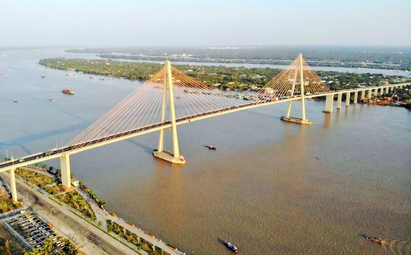 Cầu Rạch Miễu 2 nối tỉnh Giang và Bến Tre sẽ khởi công xây dựng vào năm 2021