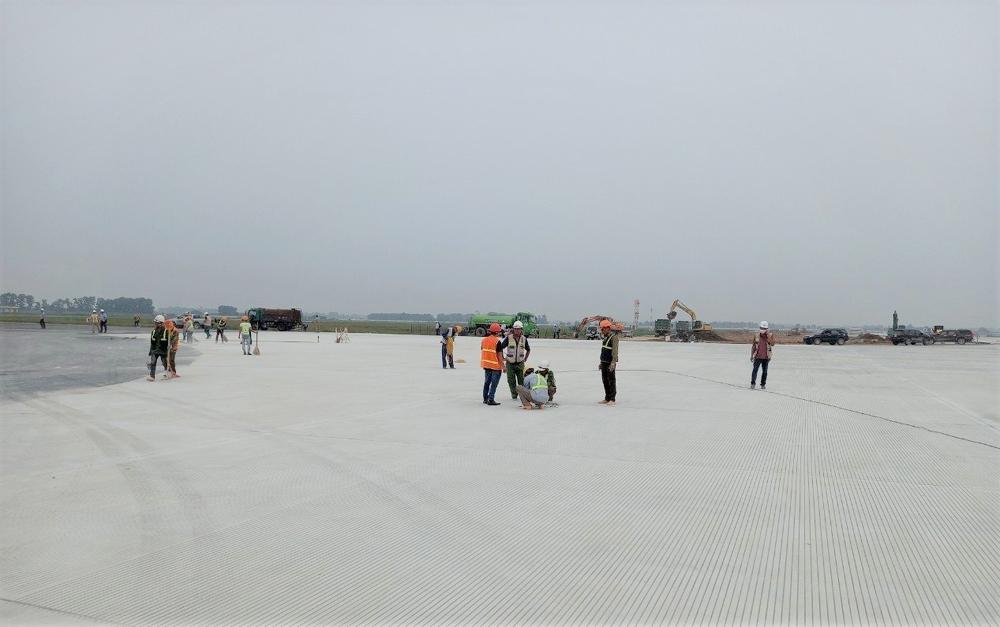 Bàn giao đưa vào sử dụng đường lăn S2 - Cảng hàng không quốc tế Nội Bài