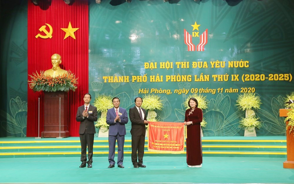Đại hội Thi đua yêu nước thành phố Hải Phòng lần thứ IX
