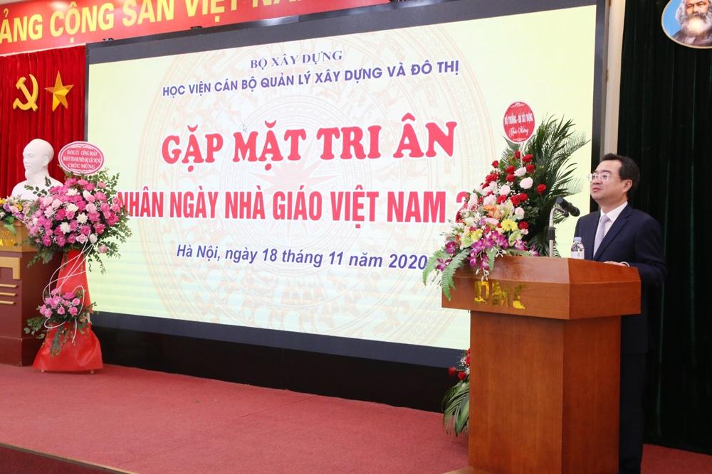 Học viện AMC gặp mặt tri ân các thế hệ cán bộ, giảng viên nhân dịp kỷ niệm Ngày Nhà giáo Việt Nam 20/11