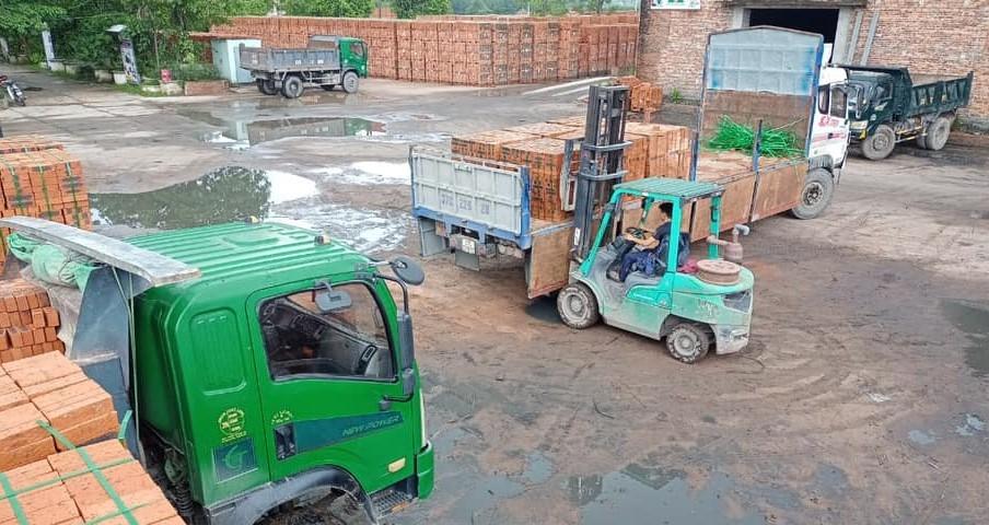 Nghệ An: Cưỡng chế hóa đơn Xí nghiệp gạch Tuynel Đô Lương