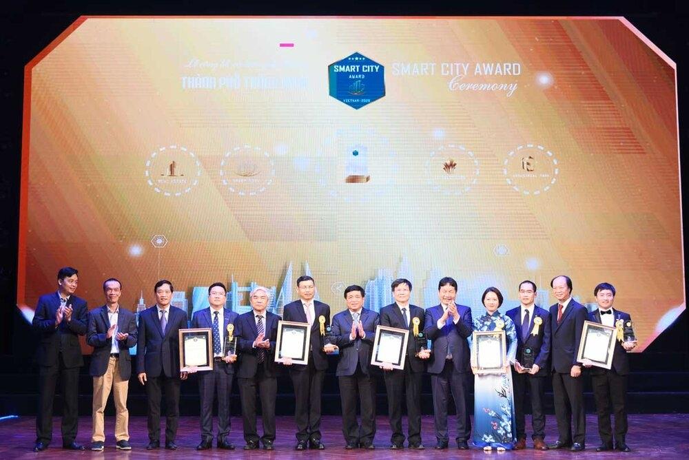 Công bố và trao Giải thưởng Thành phố thông minh năm 2020