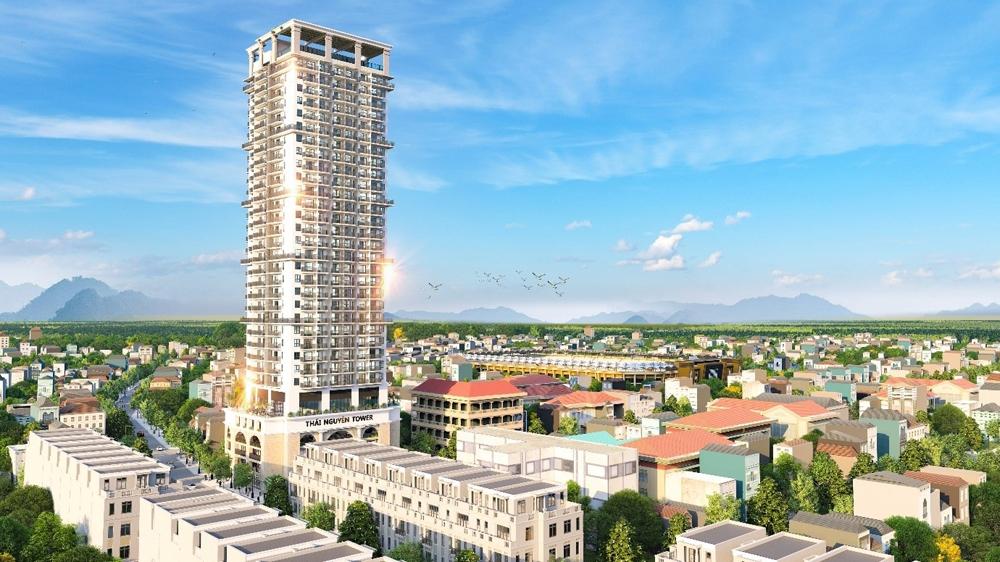 Khám phá không gian sống đẳng cấp tại dự án Thái Nguyên Tower