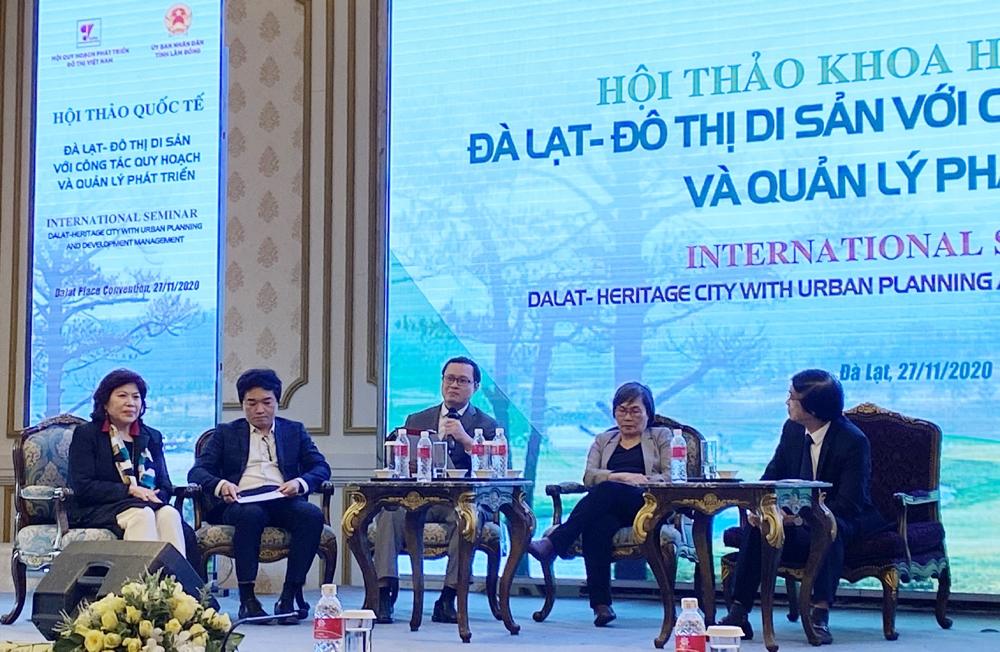 Quản lý phát triển đô thị di sản Đà Lạt và công tác quy hoạch