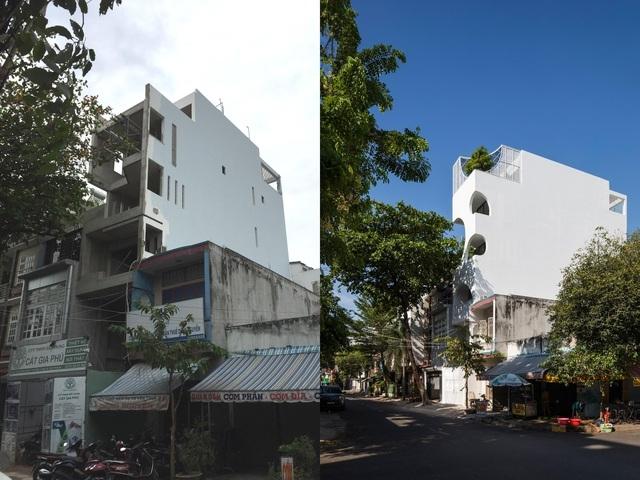 Nhà phố Sài Gòn có cách thiết kế