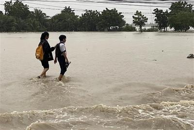 Trung Bộ và Tây Nguyên mưa to, nguy cơ cao xảy ra lũ quét, sạt lở đất