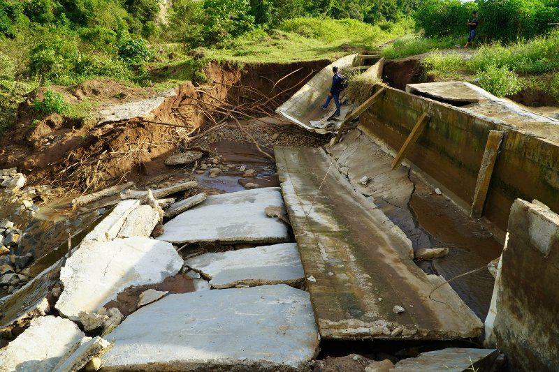 Gia Lai: Thanh tra công trình thủy lợi 119 tỷ đồng chưa nghiệm thu đã hỏng