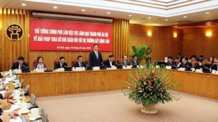 Thủ tướng Chính Phủ chỉ đạo: Hà Nội  cần tập trung nguồn lực phát triển nhà ở xã hội