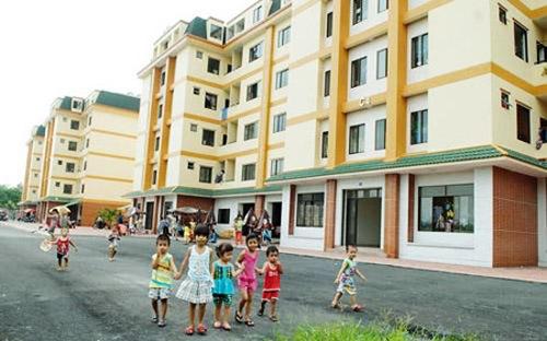 Cả nước đang triển khai 124 dự án xây nhà ở xã hội