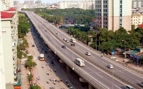 Đường Mai Dịch-Nam Thăng Long dự kiến hoàn thành năm 2018