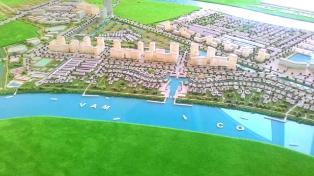 Đến năm 2020, tỉnh Long An sẽ có 25 đô thị