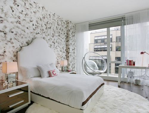 103226baoxaydung image012 Cùng nhìn qua những mẫu ghế trắng trang nhã cho phòng ngủ