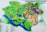 Cấu trúc không gian đô thị Kim Hoa được tổ chức theo các tuyến trục lõi trung tâm