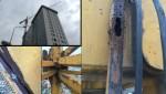 Đề nghị tháo dỡ cẩu tháp hết hạn kiểm định, có nguy cơ đổ sập tại công trình 8B Lê Trực