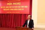Ban Cán sự Đảng Bộ Xây dựng quán triệt và triển khai thực hiện Nghị quyết Hội nghị Trung ương 6 Khóa XII