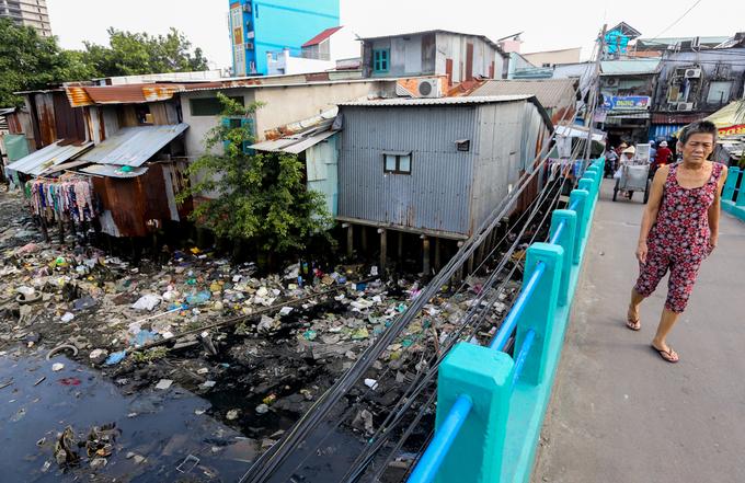 Nguồn nước ô nhiễm đáng báo động tại TP.HCM