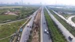 Toàn cảnh công trình nước sạch sông Đà số 2 đang thi công