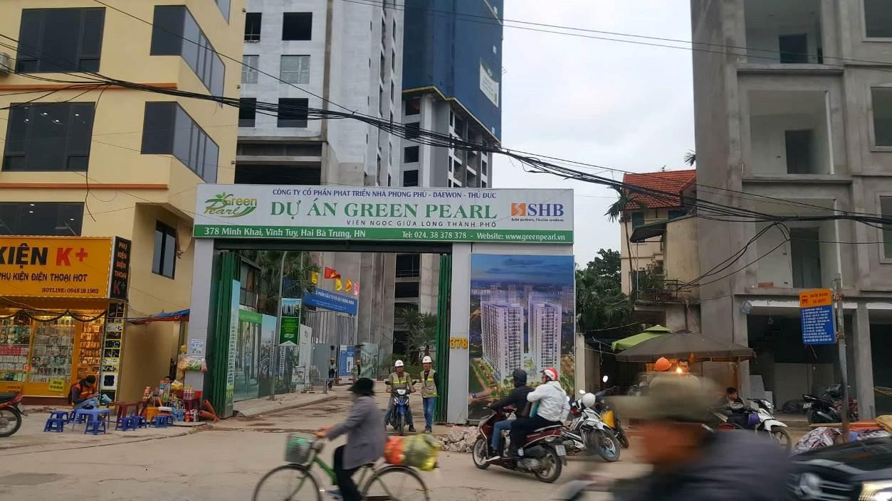 Hà Nội: Dự án Green Pearl 378 Minh Khai chưa nghiệm thu đã đưa vào sử dụng