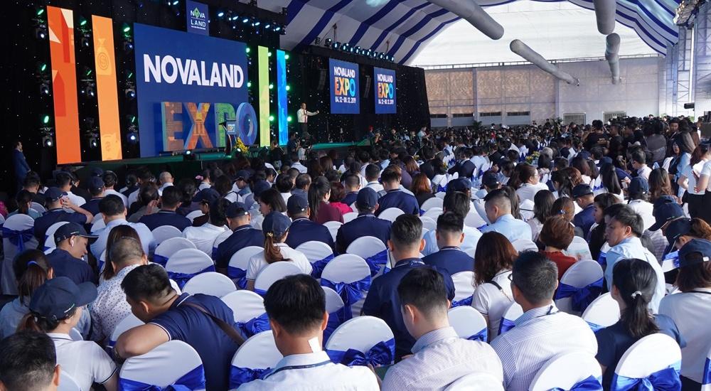 khai mac trien lam novaland expo 2019