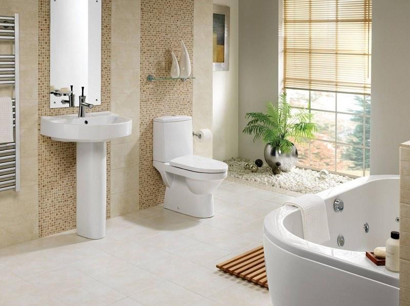 Bí quyết trang trí và vệ sinh phòng tắm