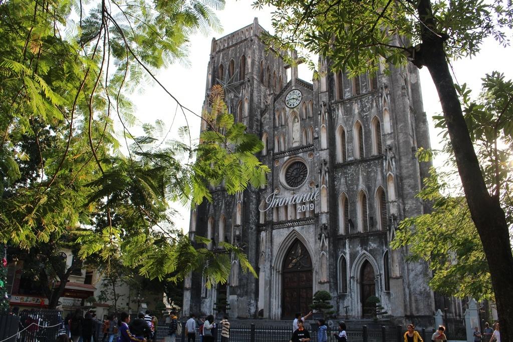 Kiến trúc độc đáo của các nhà thờ trong không gian đô thị Hà Nội