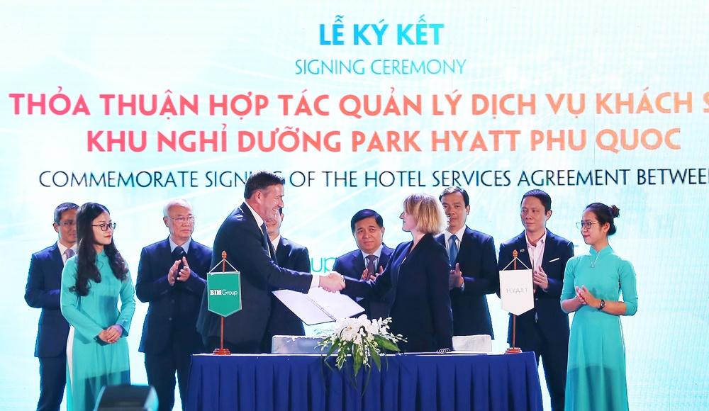 Hợp tác triển khai dự án Park Hyatt Phu Quoc