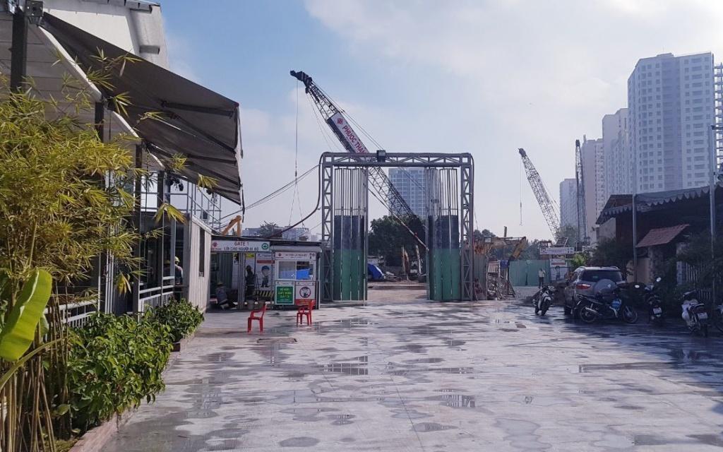 Dự án Paris Hoàng Kim bị Sở Xây dựng thành phố Hồ Chí Minh phạt vì vi phạm xây dựng
