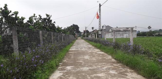 Tiên Hội đang hoàn thành xã nông thôn mới kiểu mẫu