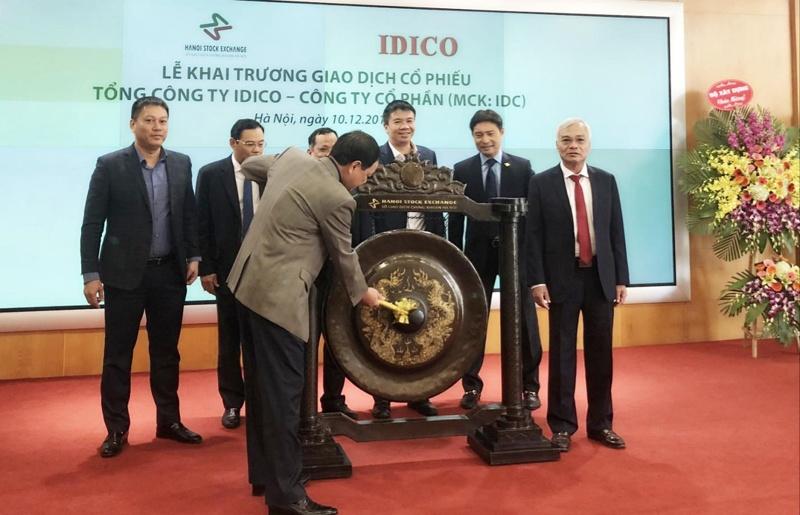 IDICO chính thức lên sàn chứng khoán Hà Nội