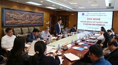 Hội nghị kiểm điểm, đánh giá xếp loại chất lượng tổ chức Đảng và đảng viên Viglacera năm 2019