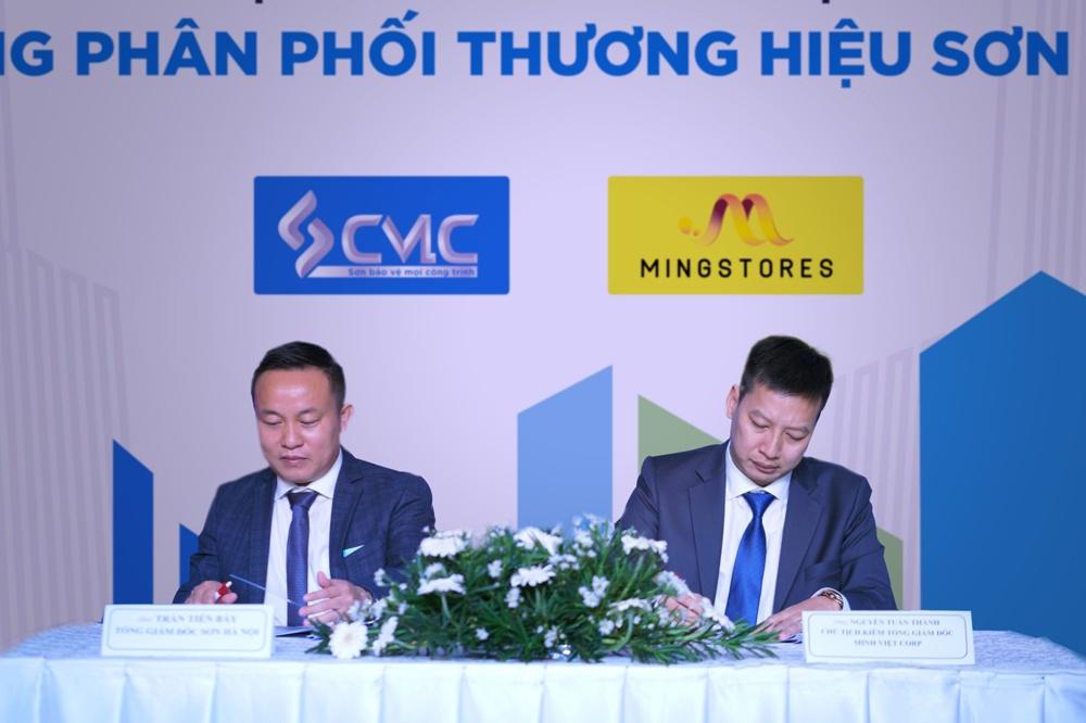 Sơn Hà Nội và Tập đoàn Minh Việt ký kết thỏa thuận hợp tác chiến lược