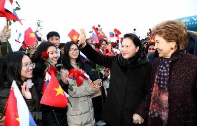 Thúc đẩy hợp tác trên nhiều lĩnh vực với Liên bang Nga và Belarus