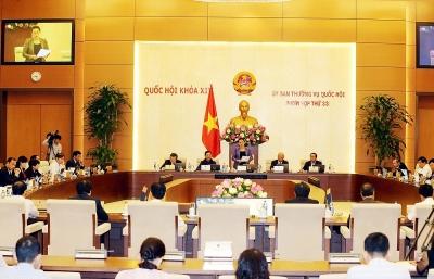 Ủy ban Thường vụ Quốc hội quyết nghị sắp xếp đơn vị hành chính một số tỉnh, thành