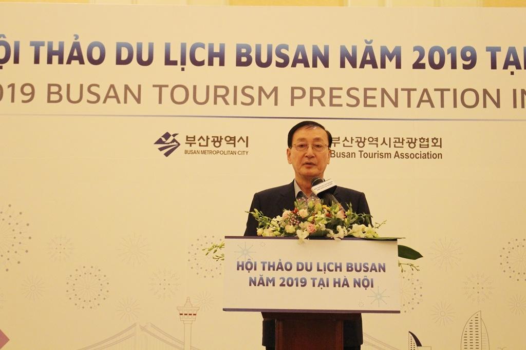 Đẩy mạnh quảng bá du lịch thành phố biển Busan