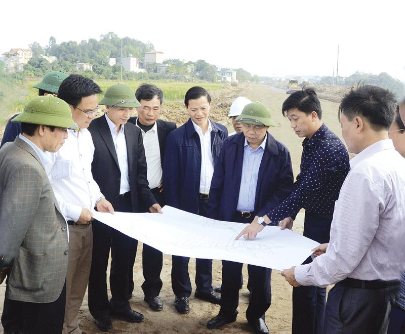 Bắc Ninh: Đẩy nhanh tiến độ một số công trình giao thông, thủy lợi trọng điểm