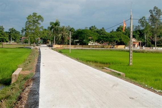 Xây dựng nông thôn mới các xã biên giới: Tùy theo đặc trưng của mỗi địa phương