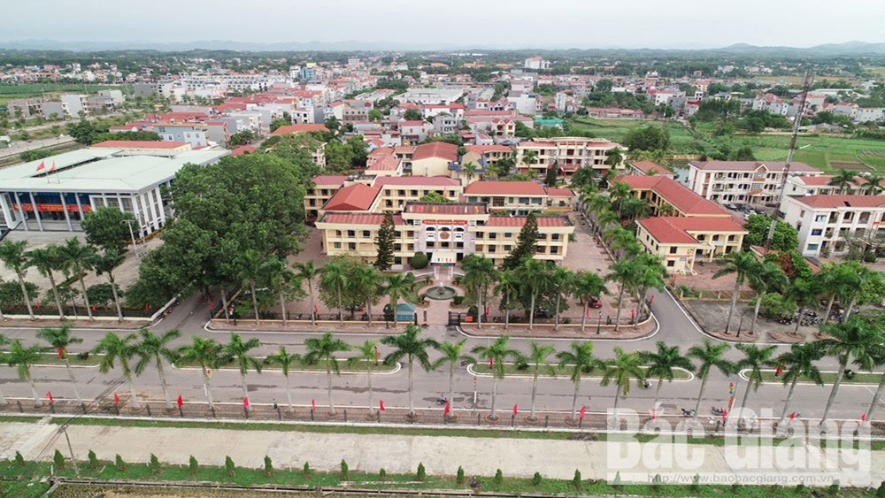 Bắc Giang: Lạng Giang trở thành huyện thứ hai đạt chuẩn nông thôn mới