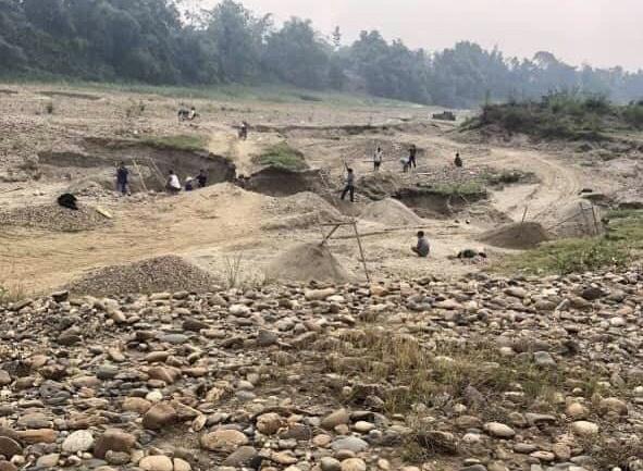 Sơn Dương (Tuyên Quang): Cần giải quyết dứt điểm tình trạng khai thác cát, sỏi trái phép trên địa bàn xã Vĩnh Lợi